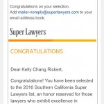 Kelly Chang Rickert and Shannon Payne Selected to Superlawyers 2016 List in Family Law!