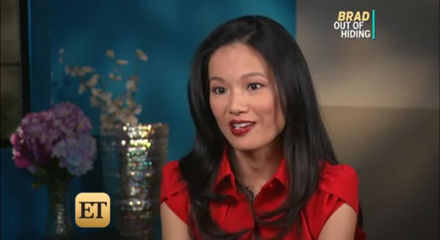 Kelly Chang Rickert, CFLS, appears on Entertainment Tonight re: Brangelina Custody Battle