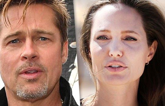 Brad and Angie's Custo... Brad Pitt Divorcing
