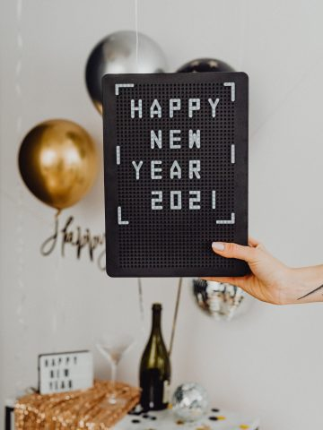 Karolina Grabowska Happy New Year 2021